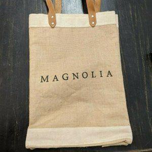 Apolis Global Citizen Magnolia Market Tote Bag NEW